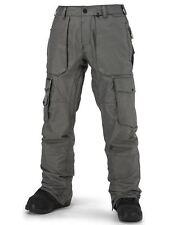 2016 NWT MENS VOLCOM GL SNOWBOARD PANTS $308 L vintage black modern relaxed logo