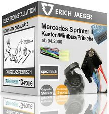 Elektrosatz 13-pol spezifisch für MERCEDES Sprinter 05.06-05.18 NEU inkl EBA
