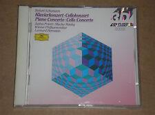 ROBERT SCHUMANN - PIANO CONCERTO, CELLO CONCERTO - CD COME NUOVO (MINT)