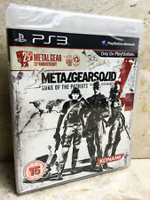 METAL GEAR SOLID 4: 25th ANNIVERSARY (SEALED) - RARE Sony PlayStation 3 PS3 Game