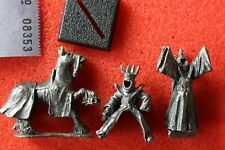 Games Workshop Citadel ME-63 Lord of the Rings Nazgul Metal Foot Mounted LoTR GW
