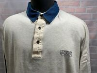 Vintage NEW RIVER Genuine Article Est 1991 Sportswear Polo Men's Shirt Size L