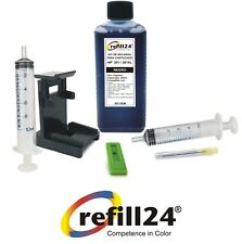 Tinta y kit para recarga de cartuchos Serie HP 301 301xl Negro 250ml