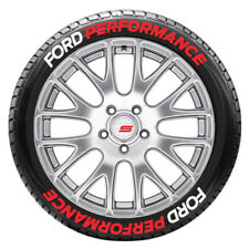 "FORD PERFORMANCE Tire Lettering - 1.50"" Letters - 16in to 18in Wheels (8 decals)"