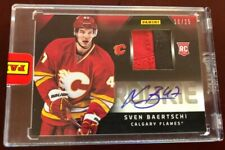 2012/13 Panini Stanley Cup Finals Promo Pack SVEN BAERTSCHI RC PATCH AUTO #18/25