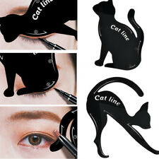 2X Women Cat Line Pro Eye Makeup Tool Eyeliner Stencils Template Shaper Model U