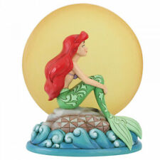 6005954 Jim Shore Disney Traditions The Little Mermaid Ariel With Light Up Moon