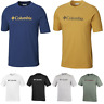 COLUMBIA CSC Basic Logo Outdoor Cotton T-Shirt Short Sleeve Tee Mens All Size
