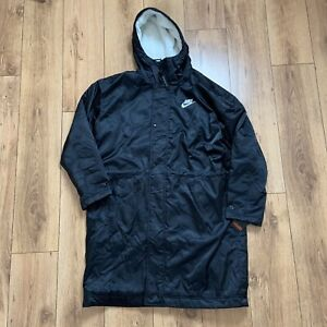 Nike Men's Synthetic Fill Loose Fit Parka Size L Black BV4694 010 NEW