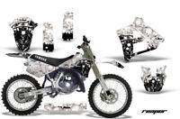 Graphics Kit Decal Sticker Wrap + # Plates For Yamaha YZ125 YZ250 91-92 REAPER W