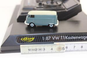 Carson 500504118 VW T1 Bus Kastenwagen 2.4GHZ  RC Modell 1:87 100% RTR NEU OVP