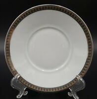 Christofle MALMAISON (PLATINUM) Saucer For Flat Cup EXCELLENT