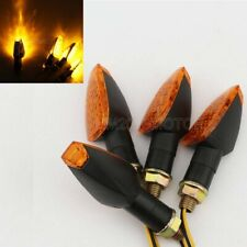 4X Motorcycle LED Turn Signal Light for Honda Dual Sport Dirt Bike Blinker Amber