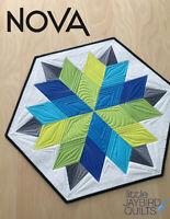 Nova Quilt Pattern by Julie Herman for Jaybird Quilts Fat Eighth Friendly