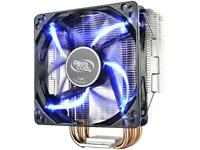 DEEPCOOL GAMMAXX 400 CPU Air Cooler 4 Direct Contact Heatpipes, 120mm PWM Fan wi