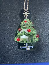 CHRISTMAS TREE Swarovski Crystal Pendant Necklace Jewelry Gift