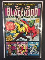 The Black Hood Man Of Mystery #42 Mighty Comics 1967 Combine Shipping