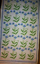 PURE LINEN TEA TOWEL AUSTRALIAN BLUEBELL