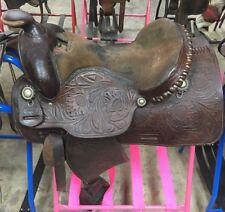"""15"""" Ozark Reining Saddle"""