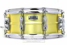 Yamaha Recording Custom Brass Snare Drum 14x5.5 - Video Demo