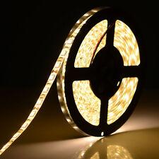 Warm White 5M Waterproof 300 LED 5050 SMD Flexible LED Light Lamp Strip DC 12V