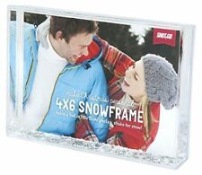 Snow and Glitter frame 6x4