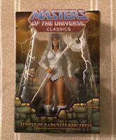 Sorceress Temp of Dark MOTUC Masters of the Universe Classics MOTU w mailer box