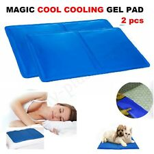 Cojín de Gel Refrescante Almohada Mat Cojín Pet frescos Yoga ayuda dormir cómodo Magic UK