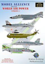 Model Alliance decals 1/48 World Air Power Update 4 # 48189