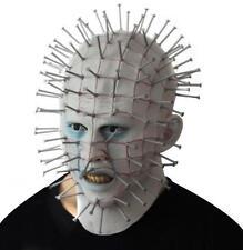 horror film Hellraiser latex Pinhead mask thriller full head Pin Helmet Cosplay