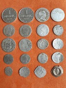 Lot, 20  Silbermünzen