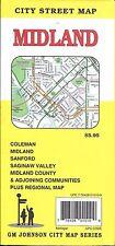 City Street Map of Midland, Michigan, by GMJ Maps