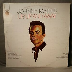 "JOHNNY MATHIS ""UP UP AND AWAY"" 12"" Vinyl LP Record limited edition"