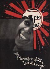 "Ethel Waters  ""The Member of the Wedding""  Souvenir Program  Tour   1951"