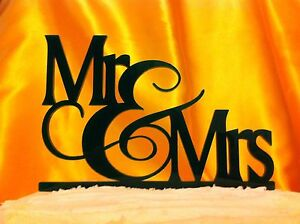 MR & MRS Wedding Cake Topper MADE In USA…..Ships from USA