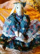 Hand Made Sewing Bunny Rabbit Doll