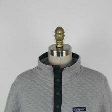 Patagonia Men's Gray Diamond Stitched Pullover Sweater Size M