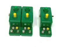 3 Trix Express #2 Yellow&Green Switch for track Switches Untested