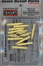 KORA Models 1/72 TER RACKS Mk.82 SNAKEYE BOMBS Light Load for A-4 Skyhawk