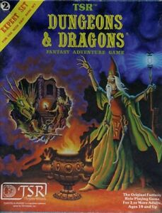 SET 2 EXPERT RULES DICE GATEWAY EXC! 1012 D&D Box Dungeons Dragons Module Boxed