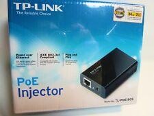 Tp-Link Power Over Ethernet Injector Gigabit PoE 802.3af Rj-45 Dc Tl-Poe150S New