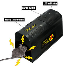 Electronic Mouse Trap Poision Victor Control Rat Rodent Killer Pest Mice Zapper