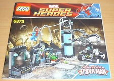Lego Super Heroes Bauplan 6873, only instruction