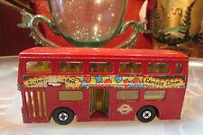 ancien bus autocar miniature anglais matchbox super kings the londoner k15 metal