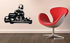 Wall Sticker Vinyl Decal Karting Racing Sports Speed Kart (ig1179)