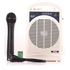 New Portable Bluetooth Karaoke PA Speaker Amplifier & Microphone Handheld Mic