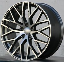 "20""  Wheels For Audi A8 A6 A5 Q5 Tiguan Set of Four 20x9.0"" +35 5x112"