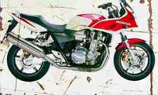 Honda CB1300S 2005 Aged Vintage SIGN A3 LARGE Retro