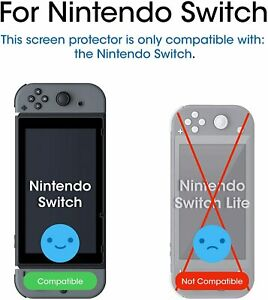amFilm Screen Protector for Nintendo Switch 2017 - (2-Pack)