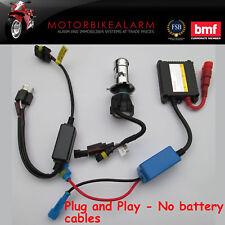 Plug and play Motorcycle Motorbike Bike HID H4 Bi Xenon light kit 6000K or 8000K